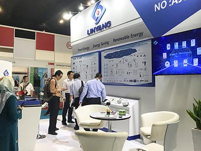 """""""Linyang Energy"""" Exhibited in Asia Utility Week 2019"""