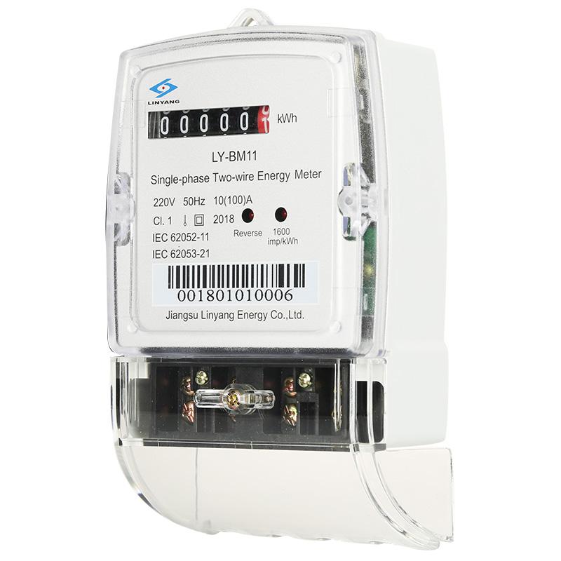 8 Year Exporter Digital Prepaid Meter - Single Phase Meter with Active Energy Measurement LY-BM11 – linyang