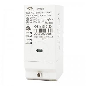 DIN-Rail Smart Single Phase Prepaid Meter LY-SM120